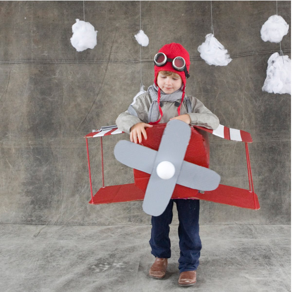 Click ... & Airplane Costume