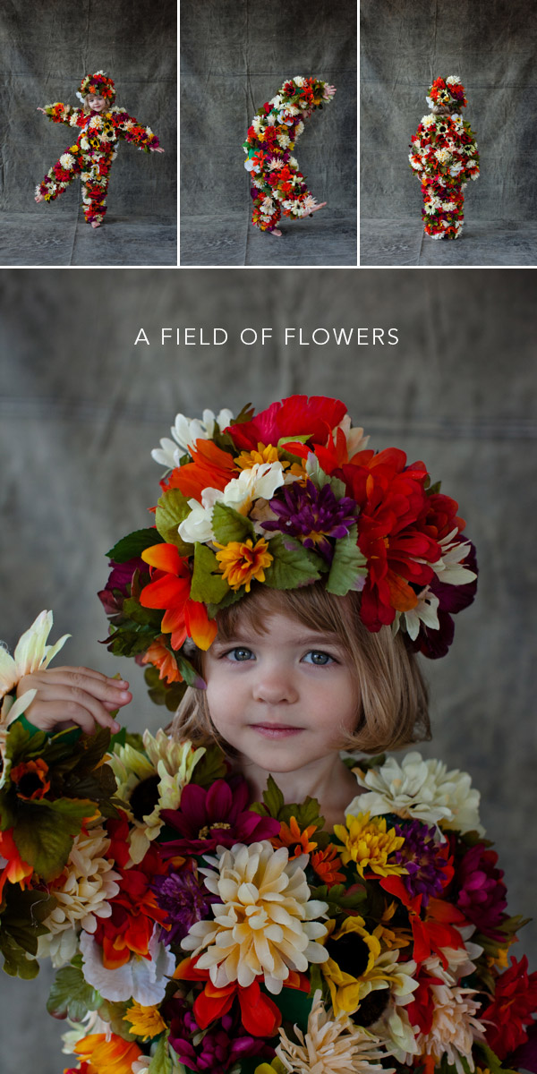 To ...  sc 1 st  Oh Happy Day! & Field of Flowers Costume