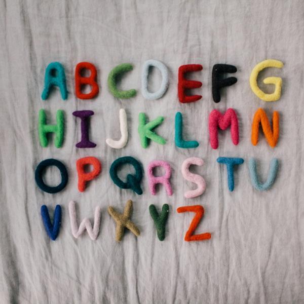 Wool Alphabet DIY