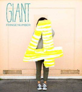 Giant Fringe Number | Oh Happy Day!