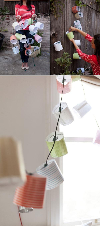 Party Lantern Garland Diy Free Printable