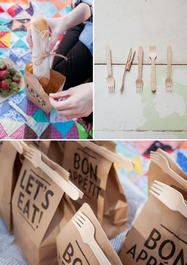 Clip-on Picnic Utensils | Fall DIY Picnic Food Ideas And Crafts To Do This Weekend