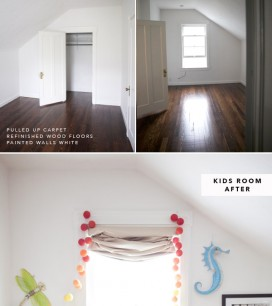 Before and After 500 Sq Ft Apartment