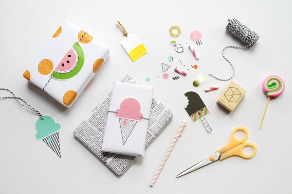 Free 'Happy Summer' Printables