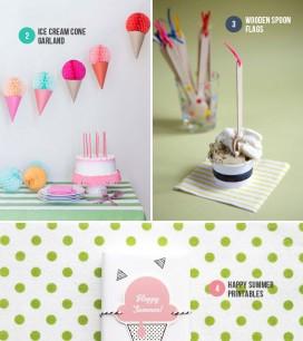 Ice Cream Party Ideas | Oh Happy Day!
