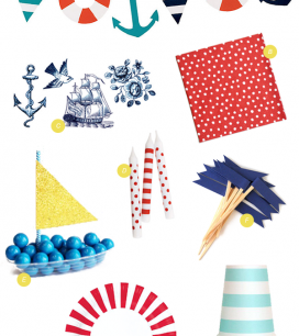 Nautical Party Supplies | Oh Happy Day!
