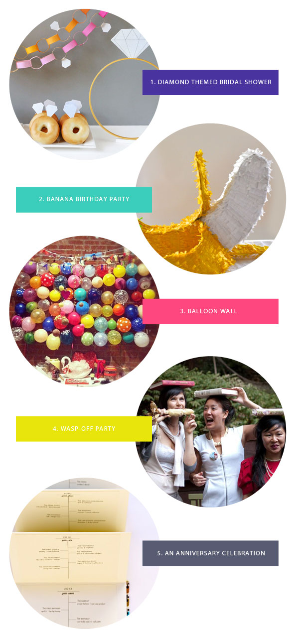 Our Favorite Party Ideas | Oh Happy Day!