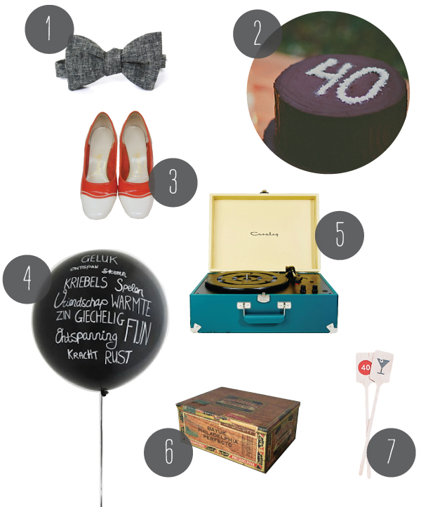 A 40th Birthday Party | Oh Happy Day!