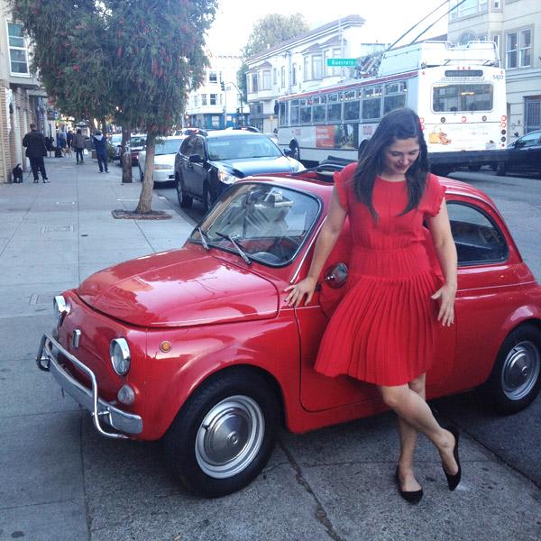 Fiat 500 / Oh Happy Day!