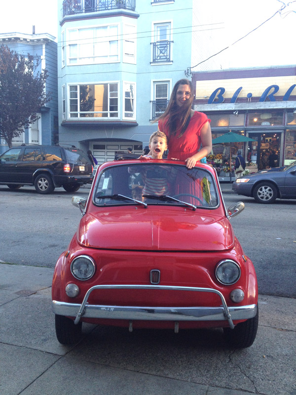 Fiat 500 Oh Happy Day