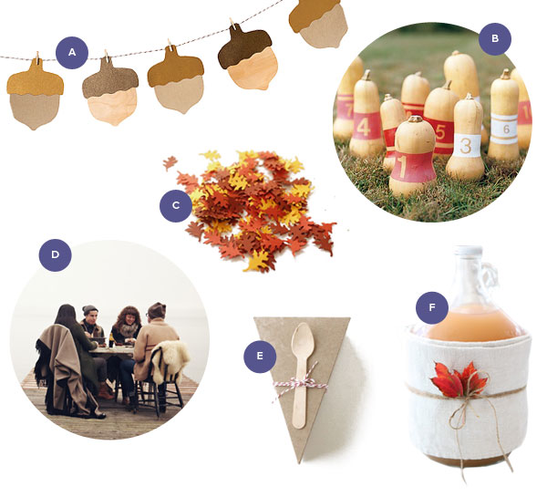 Harvest Party Supplies | Oh Happy Day!