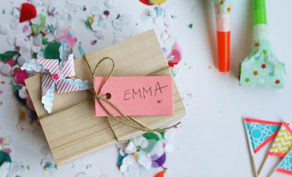 Party Supply Invitation DIY | Oh Happy Day!