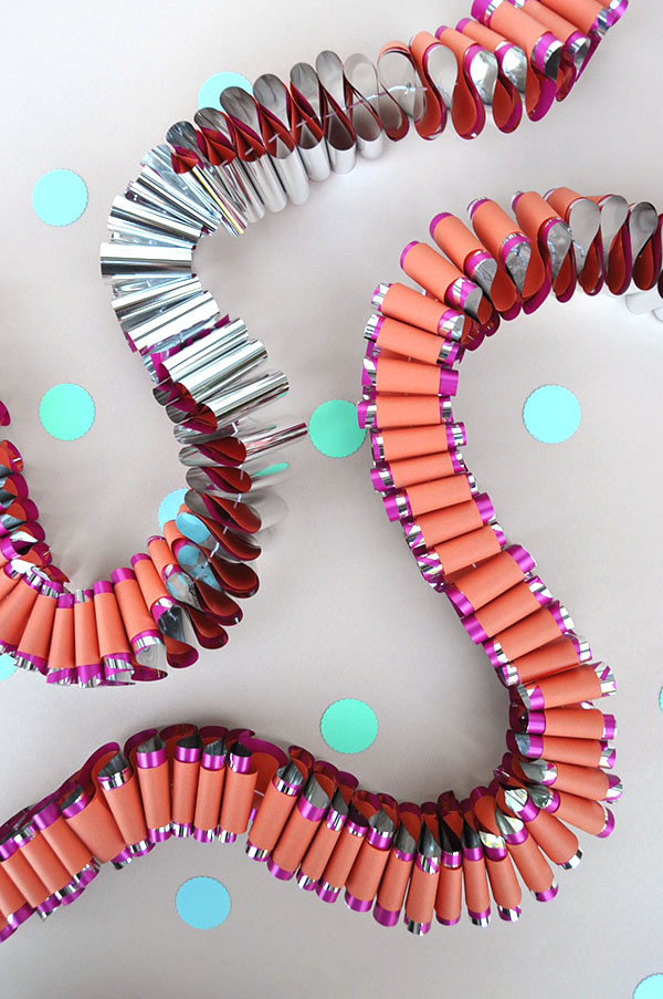 Mylar Garland DIY | Oh Happy Day!