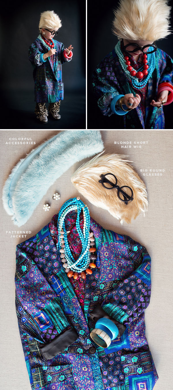 Fashion Icons Halloween Costumes: Iris Apfel | Oh Happy Day!