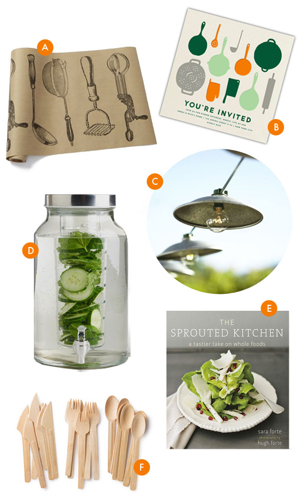 Cooking Party Supplies | Oh Happy Day!