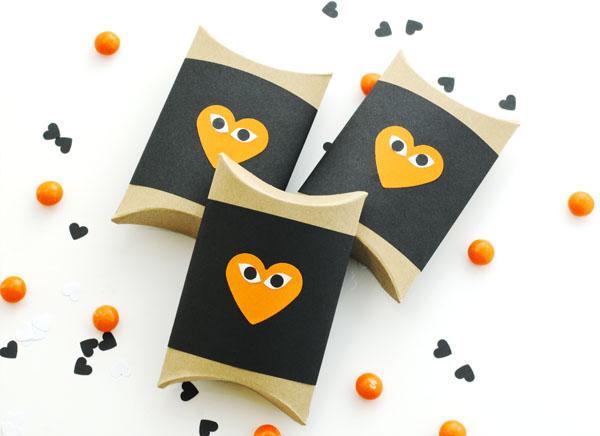Halloween Heart Face Box DIY | Oh Happy Day!