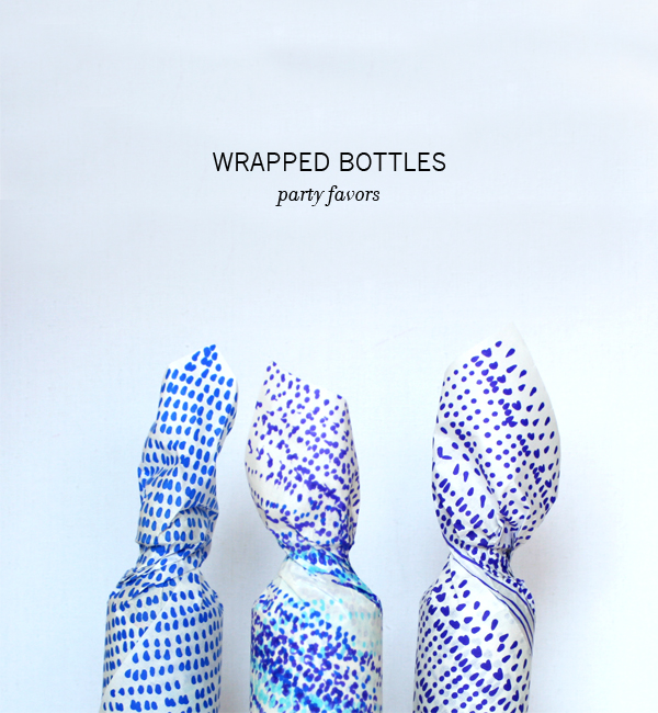Wrapped Drink Bottles | Oh Happy Day!