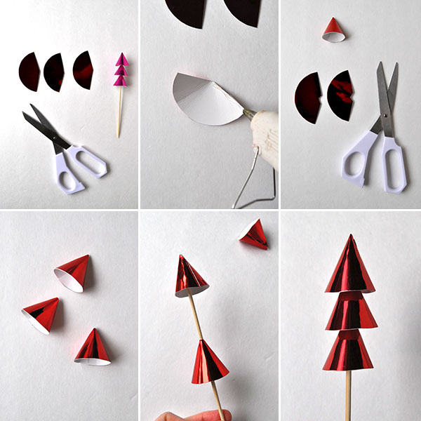 Christmas Forest Cake Topper