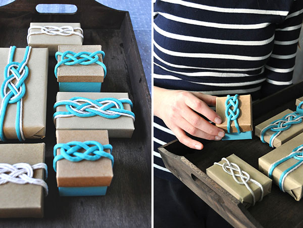 Nautical Favor Boxes | Oh Happy Day!