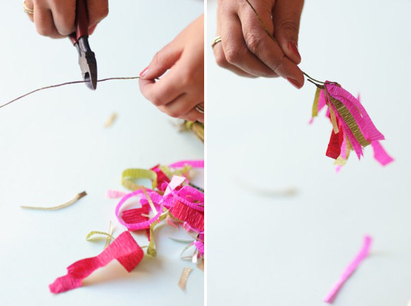 Paper Scrap Flowers DIY | Oh Happy Day!