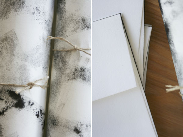 Ink Pad Wrapping Paper | Oh Happy Day!