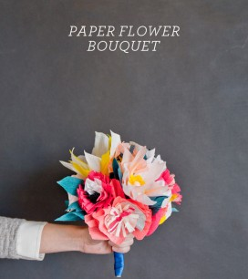 Paper Flower Bouquet | Oh Happy Day!