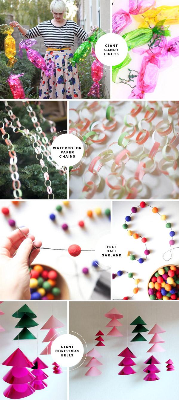 Fun Christmas DIY Ideas   Oh Happy Day!
