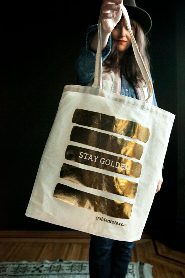 Golden Tote as Christmas Gifts! | Oh Happy Day!