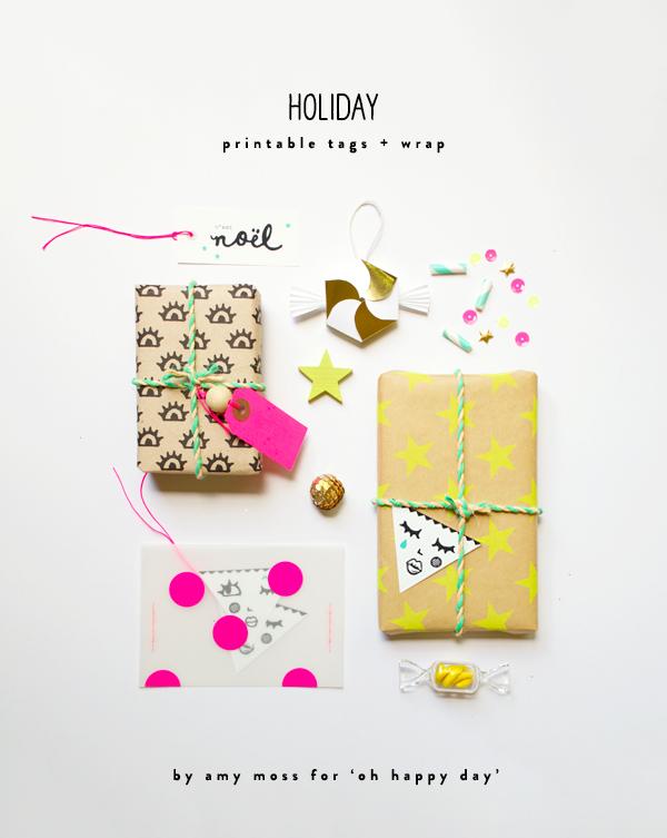 graphic regarding Holiday Tags Printable called Printable Trip Tags and Wrap