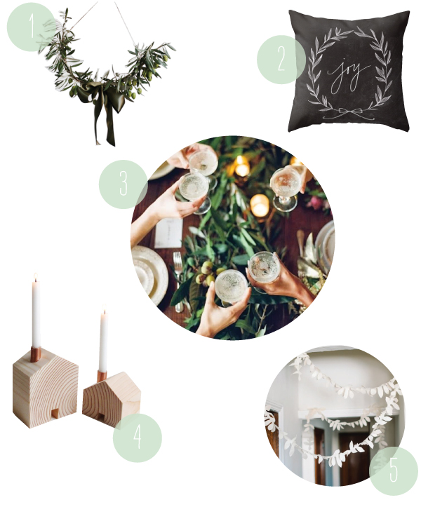 A Christmas Dinner Party | Oh Happy Day!