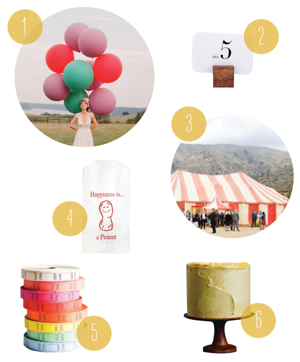 A Circus Wedding | Oh Happy Day!
