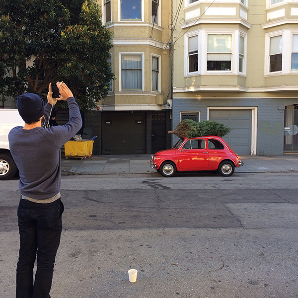 Pictures of People taking Pictures of My Car