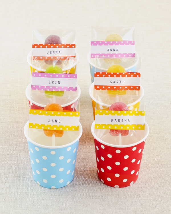 Polka Dot Lollipop Cover DIY | Oh Happy Day!