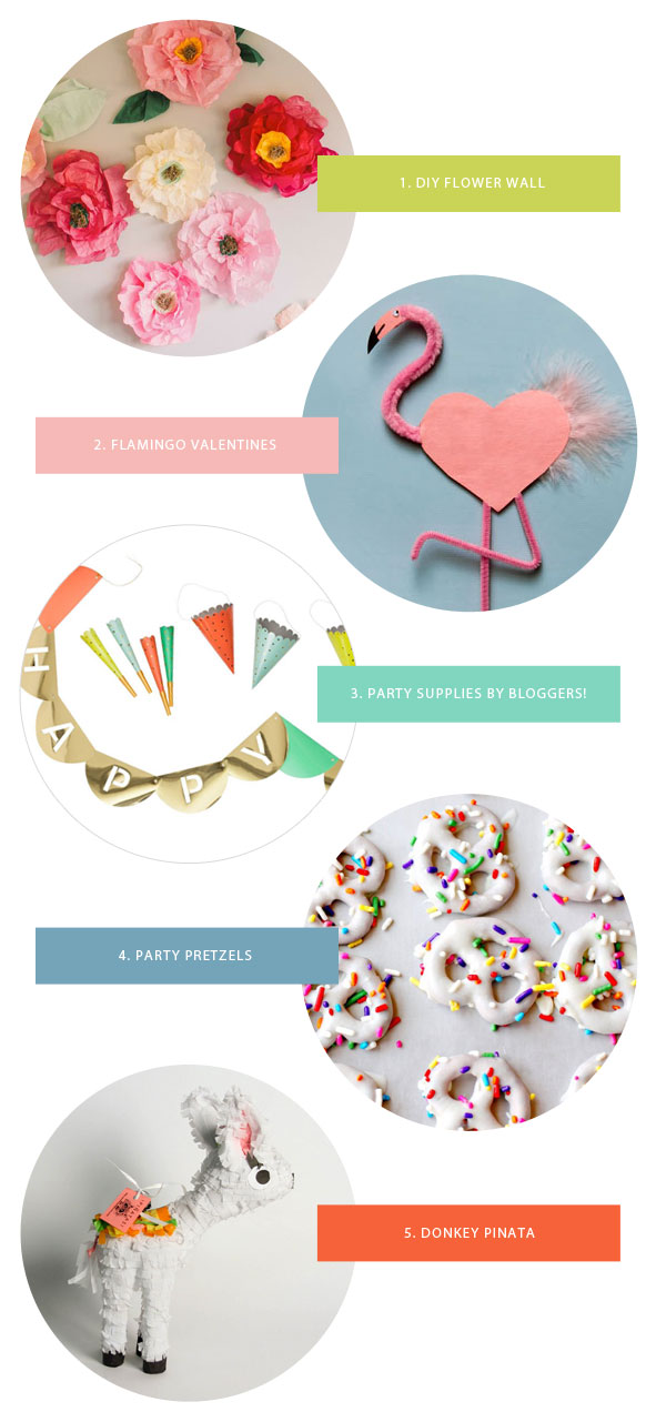 Favorite Party Supplies This Week | Oh Happy Day!