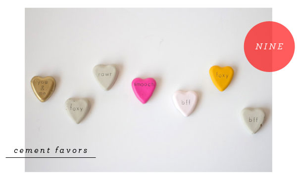 Favorite Party Pins: Hearts   Oh Happy Day!