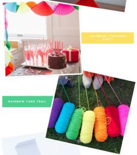 Rainbow Party Ideas | Oh Happy Day!
