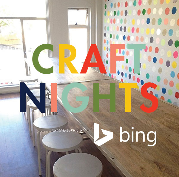 Craft Night at Oh Happy Day