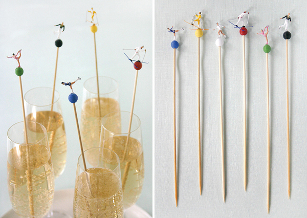 Olympic Drink Stirrers | Oh Happy Day!