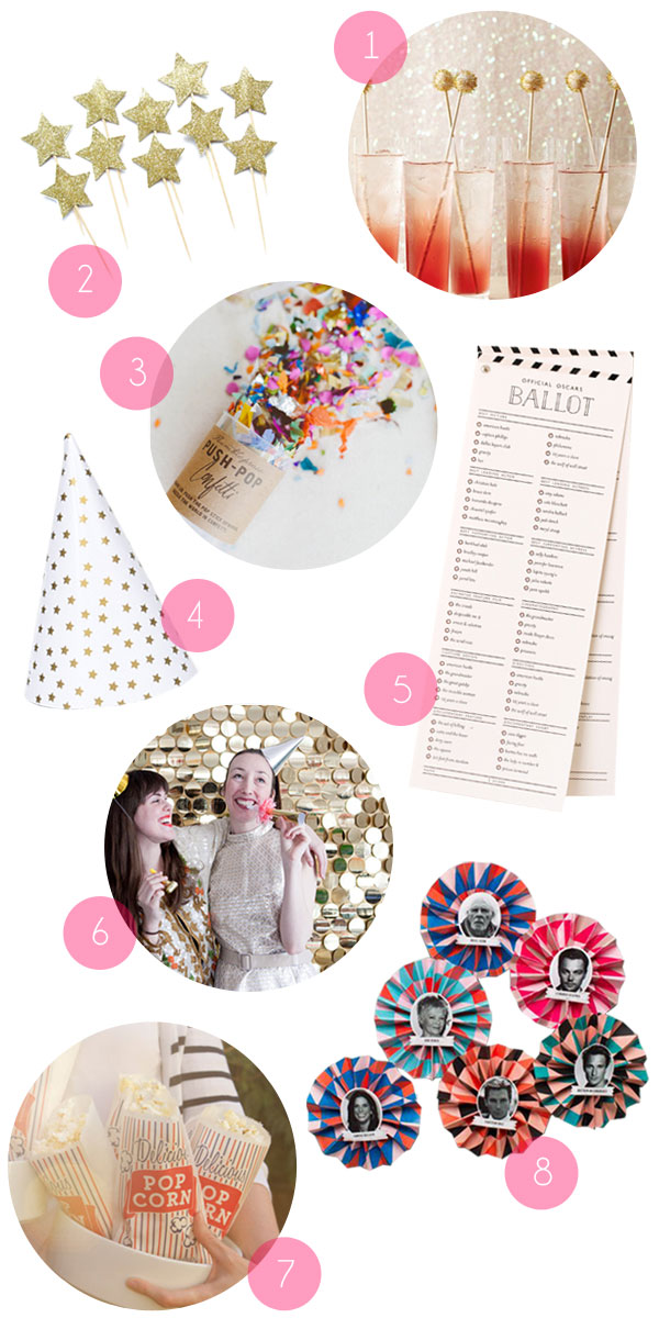 Oscar Party Supplies | Oh Happy Day!