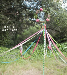 How to Make a May Pole | Oh Happy Day