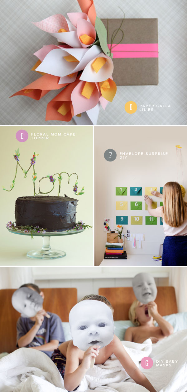 7 Mother's Day DIY Ideas | Oh Happy Day!
