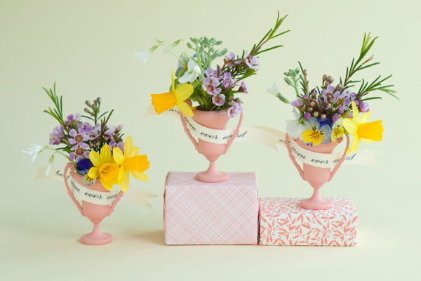 Mini Mother's Day Trophies DIY | Oh Happy Day!
