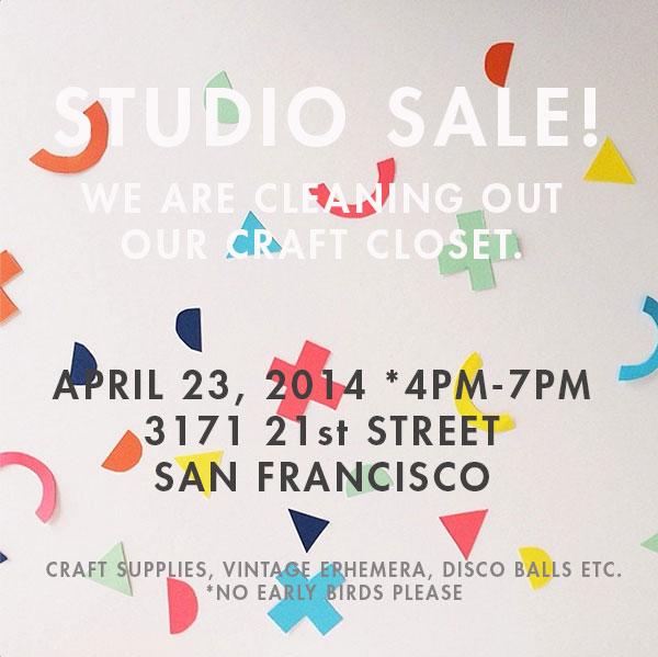 Oh Happy Day Studio Sale