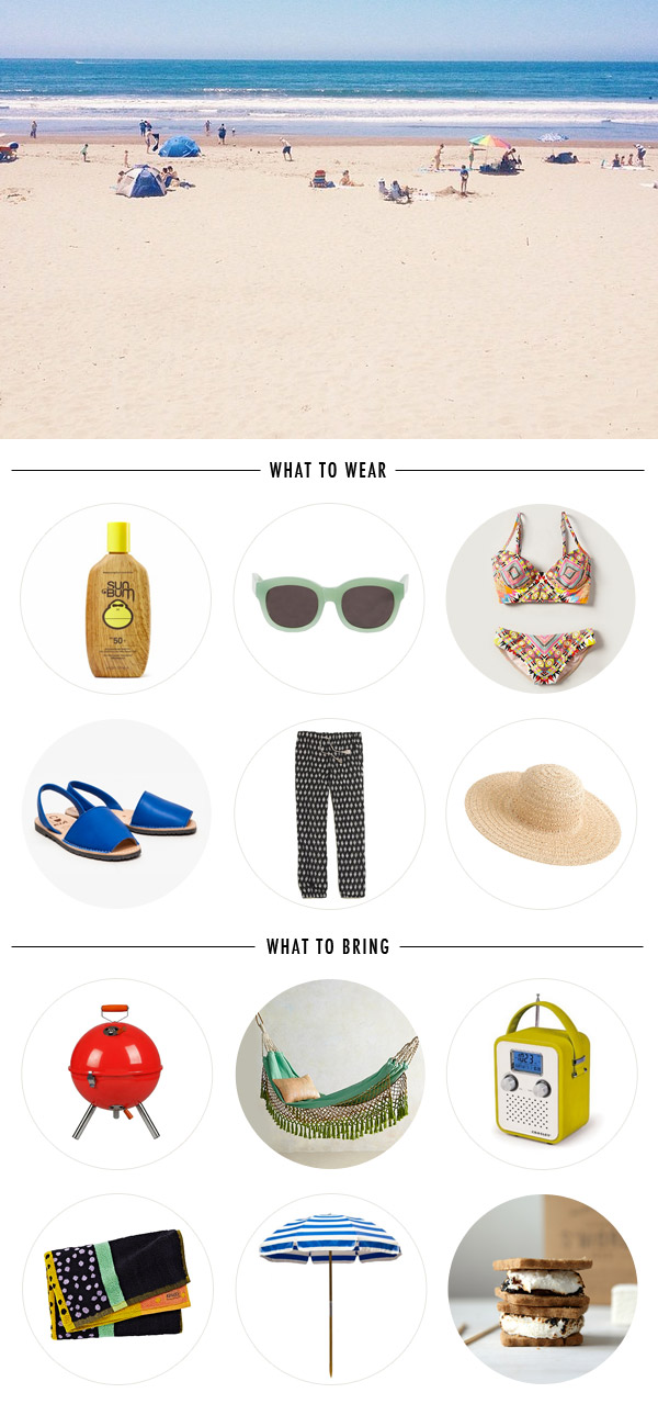 Beach Day Supplies | Oh Happy Day!