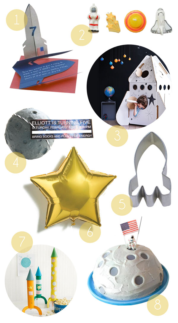 Space Party Supplies | Oh Happy Day!
