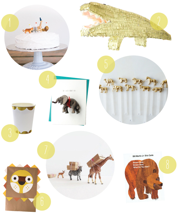 An Animal Party | Oh Happy Day!