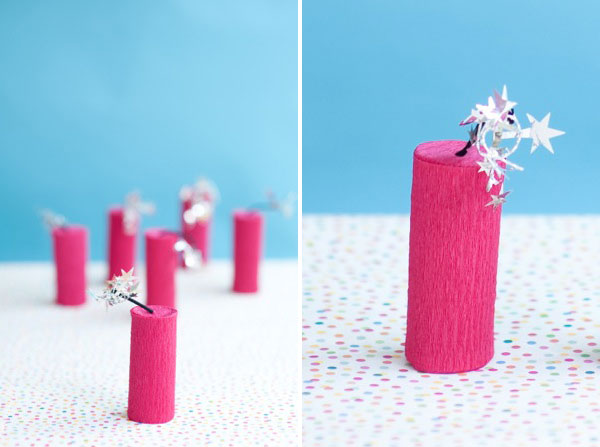 Dynamite Party Favor DIY | Oh Happy Day!
