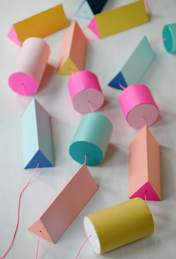 Giant Paper Bead Garland | Oh Happy Day!