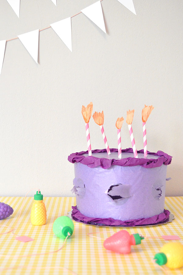 Hidden Prize Birthday Cake | Oh Happy Day!