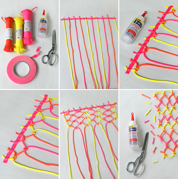 Neon Cord Party: Placemat | Oh Happy Day!